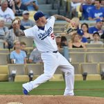 Mat Latos pitches a 1-2-3 fourth inning. #whiff #Dodgers and Cubs still tied at 1. @JonSooHooPics http://t.co/0MLd6cgJdQ