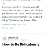 Why is there so much self-help stuff on @Medium? http://t.co/CGQhGgO6GX