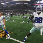 .@Bease11 & @DezBryant warming up #MINvsDAL http://t.co/BnFefEy3Zx