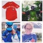 .@denvercowan, @heatherbird13 & @CFilinski celebrated @BlueJays & showed their #CanadaJays pride...cont. http://t.co/KVeMNVdVOf