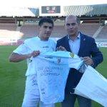 #que grande @jimmy290208 250 partidos de azul y blanco con la @SD_Compostela  y #losquelequedan http://t.co/YWG8jAFGMi