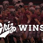 THE GRIZ WINS! @UMGRIZZLIES_FB take down @NDSUfootball with TD in final seconds. The Griz win 38-35. #FCSKickoff http://t.co/GtBUCV8oHi