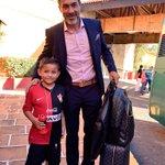 ¡ Todo listo ! Con el apoyo de la Fiel partimos rumbo al Estadio Hidalgo. http://t.co/VCOXEES4Vn