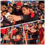 Selfie con la Fiel ????????⚫️ Los Zorros conviven con nuestra afición presente en el Hidalgo. http://t.co/43sO4Vv6oh