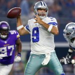 TOUCHDOWN COWBOYS. Tony Romo finds Lucky Whitehead for an 8-yard TD. DAL leads 14-7. #MINvsDAL http://t.co/gE2rZiTj78