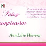 Feliz cumpleaños Sen. @AnaLiliaHerrera reciba un abrazo de parte de las #MujeresPRI #Durango @AlyGamboa @sugheytorres http://t.co/2Ip0zgGX7G