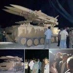 """#مصراتة.. كتيبة المرسى تجري تجربة على إطلاق """"صاروخ أرض-جو"""" بحضور رئيس الوزراء في حكومة الإنقاد خليفة الغويل. #ليبيا http://t.co/YAPJPWNEl8"""