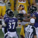 Multiple players ejected following scuffle between Redskins, Ravens: http://t.co/kuvjRowu2d http://t.co/Tv9dRQJIDS