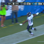 Tyler Lockett is RIDICULOUS fast!! 💨 💨 💨  67-yard punt return to the house. He also had 103-yd kick return TD Week 1. http://t.co/TdFfo00wtr