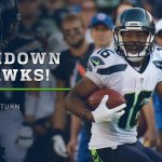 TOUCHDOWN SEAHAWKS! @TDLockett12 to the ???? for a 7-6 lead! #SEAvsSD http://t.co/yTJdCI0W6g