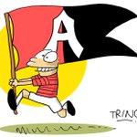¡Rueda el balón! Atlas enfrenta a @Tuzos por la Jornada 7 de la @LIGABancomerMX . ¡Vamos Rojinegros! #SoyFiel http://t.co/KECyaukjTu