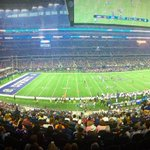 Packed house at tonights preseason opener - 86,082 in attendance! Way to show up #CowboysNation! #MINvsDAL http://t.co/fCcQmhfrjs