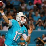 Ryan Tannehill goes 15-19 for 145 Yds and a TD as Dolphins hold Falcons offense to 0 touchdowns and win, 13-9. http://t.co/t3Lz70V8X1
