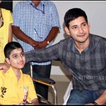 Happy Birthday Little Super Fan???? Let us all pray for his speedy recovery & good health ???? @urstrulyMahesh #Srimanthudu http://t.co/XtX11Ranfo