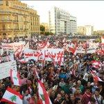 """صورة اليوم.. انتفاضة 29 آب بعدسة """"#لبنان24"""" #طلعت_ريحتكم #بدنا_نحاسب http://t.co/KCFVs0k38N http://t.co/eAAQYgQwgf"""