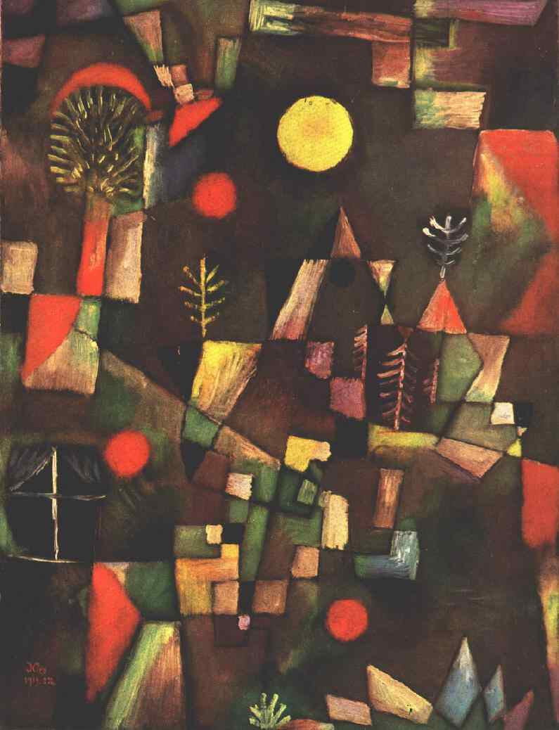 Full moon Paul Klee, 1919 #art http://t.co/pSjGg78ifP http://t.co/GRbRW17zI6