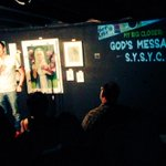 """""""Share Your Sins, Young Christians! Try to one-up each other!"""" - @harrysaysshtick on @SETLISTSHOW @NerdMelt #LA http://t.co/nlDdzkEXZ0"""
