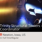 Trinity Structural Towers - Safety Coord... at Trinity Industries, Inc. in #Newton #job http://t.co/3JItEvBEDf #Vets http://t.co/6CeI1ybvVX