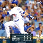 That's a wrap! The #Dodgers keep things rolling, beating the Cubs 5-2 tonight for their 5th straight win! http://t.co/1HT9SpGDmg