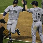 ICYMI: #Mariners hold on for wild 7-6 victory over White Sox as Hicks ends game at third base. http://t.co/IYtTRfcYKn http://t.co/5eYlHcc8Yo