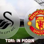 Shey una think say #mufc fit enter Swansea House collect three points? #MUIP http://t.co/S9MNt8Lq9o