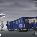 For sale: Chelsea bus (as seen by @ZEZO_CARTOONS) http://t.co/OK4PbZUxVD