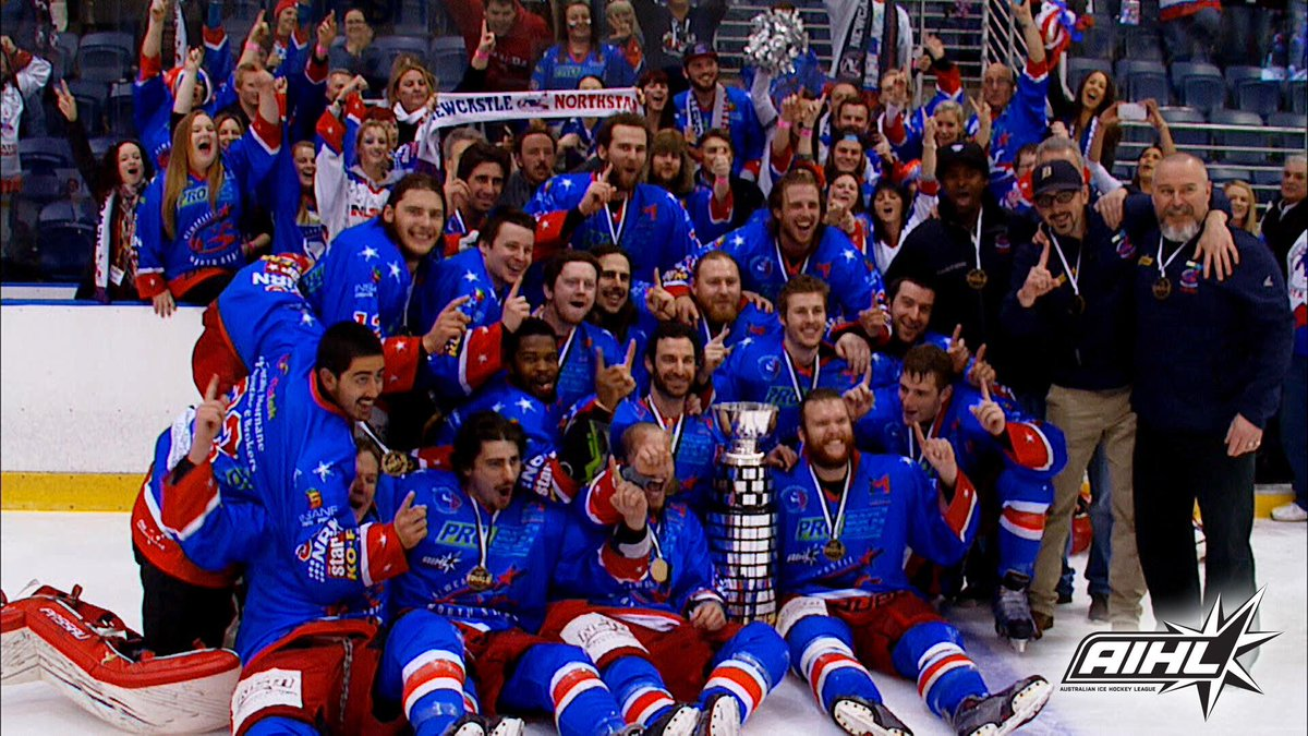 The @NewNorthStars are the 2015 Goodall Cup Champions #AIHLFinals http://t.co/yPw3hJM13S