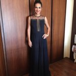 Thx @mehra_ridhi for the lovely outfit.. Here's me set for for your show @LakmeFashionWk