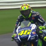 #MotoGP Warm Up ends with @ValeYellow46 on top in the rain hit session, over half a second faster than @Petrux9 http://t.co/jRhy5Nxzmv