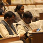 Lawmakers use their mobile phones during the meeting of CA at New Baneshwor, Kathmandu. (Photo: Dipesh Shrestha) http://t.co/0xbrq7qAaM
