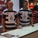 #GROnTheBeach | Henry and Willi are behind the counter at @GlosRugbyStore http://t.co/gcigRCJpIH