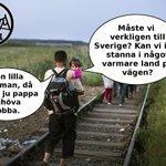 Den långa vägen till Sverige. #svpol #migpol http://t.co/X7DtWVRSmN