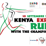Appuntamento il 10 settembre. Kenya Expo Run, preparate le sneakers! Iscrizioni: http://t.co/gPJgyKnexQ http://t.co/nWmRCL3YFy