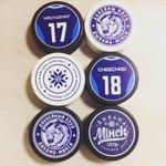Также сегодня в продаже будут уникальные шайбы с аутентичными динамовскими принтами! #KHL #КХЛ #Минск #ДинамоМинск http://t.co/FfdeQB3OHb