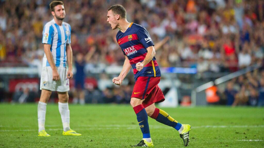 Special moment to have scored my first La Liga goal for @FCBarcelona. Thanks for all your support. http://t.co/mySA7N2Z5g