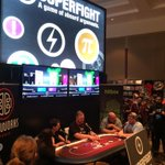 Day 3 begins: Swing by the @505_Games booth, play some @Superfight and win prizes! (Booth 6211) #PAX2015 @pipeworks http://t.co/Z7npjLVn7n