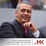 Muchas felicidades Presidente @MFBeltrones reciba un cordial saludo y abrazo #FelicidadesManlio #SoyMX @PRI_Nacional http://t.co/PxElDHjGfr
