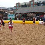 @Glos_PuryWRFC showing off their skills on the beach at our Beach Weekender #GRonthebeach http://t.co/hYOIb3cIVS