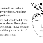 Oliver Sacks in February, on learning he had terminal cancer http://t.co/amxmOyP3kM http://t.co/hc78dzWaoZ