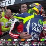 Valentino Rossi always love it when his friends are on the podium http://t.co/xSHGh55UNM