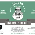 >@HatchDetroit Lookout .@soulcycle .@RealRyder .@Flywheel #Detroit puts new spin on cycling-congrats .@Spin_Delight http://t.co/FJSCnJ0EY3