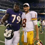 @KirkCousins8 Starts for Redskins and Micajah Reynolds of Ravens #NFL2015 #V4MSU! http://t.co/YMvOMEUWXa