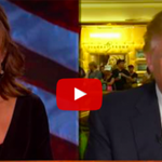 Here is a video of Sarah Palin interviewing Donald Trump. It is bonkers. http://t.co/qFIMGdXsgf http://t.co/nZvaw4GeFi