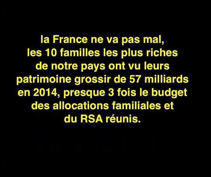 Qui a dit que ça allait mal en France? Il y en a pour qui ça va très bien! http://t.co/s8ezixhUCF