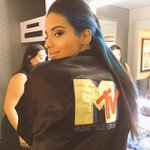 Coolest chick in the game. @NessNitty reppin & preppin to host the #VMA pre-show, starting at 8/7c on @MTV! http://t.co/7dqchf54iA