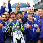 #MotoGP @YamahaMotoGPs @ValeYellow46 becomes a rain master in Silverstone: http://t.co/Sp3eMLKjs8 #BritishGP http://t.co/qhqRdLQ5xX