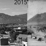 Then & now photo | #ColoradoSprings #COSprings #COS #Colorado | http://t.co/e6zngCFVd5 | http://t.co/Pp9dUS4wwC