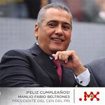 Felicitaciones a nuestro lider del @PRI_Nacional @MFBeltrones #FelicidadesManlio http://t.co/UeVgrQdxCg