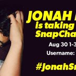 YAAAASSSS @JonahMarais is gonna take over our SnapChat RIGHT NOW!! ???????????????????? CHECK ITTTTT!! ???? ID: TheDigiTour ???? http://t.co/LlSXZlvVaL