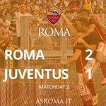 Its all over at the Olimpico, ROMA win! #RomaJuve 2-1 (Pjanic, 62, Džeko 79, Dybala 87) @Miralem_Pjanic @EdDzeko http://t.co/ngh0dgXtps